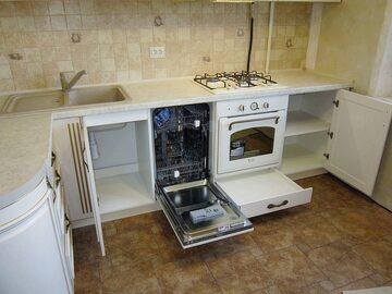 Угловая кухня из массива Классик