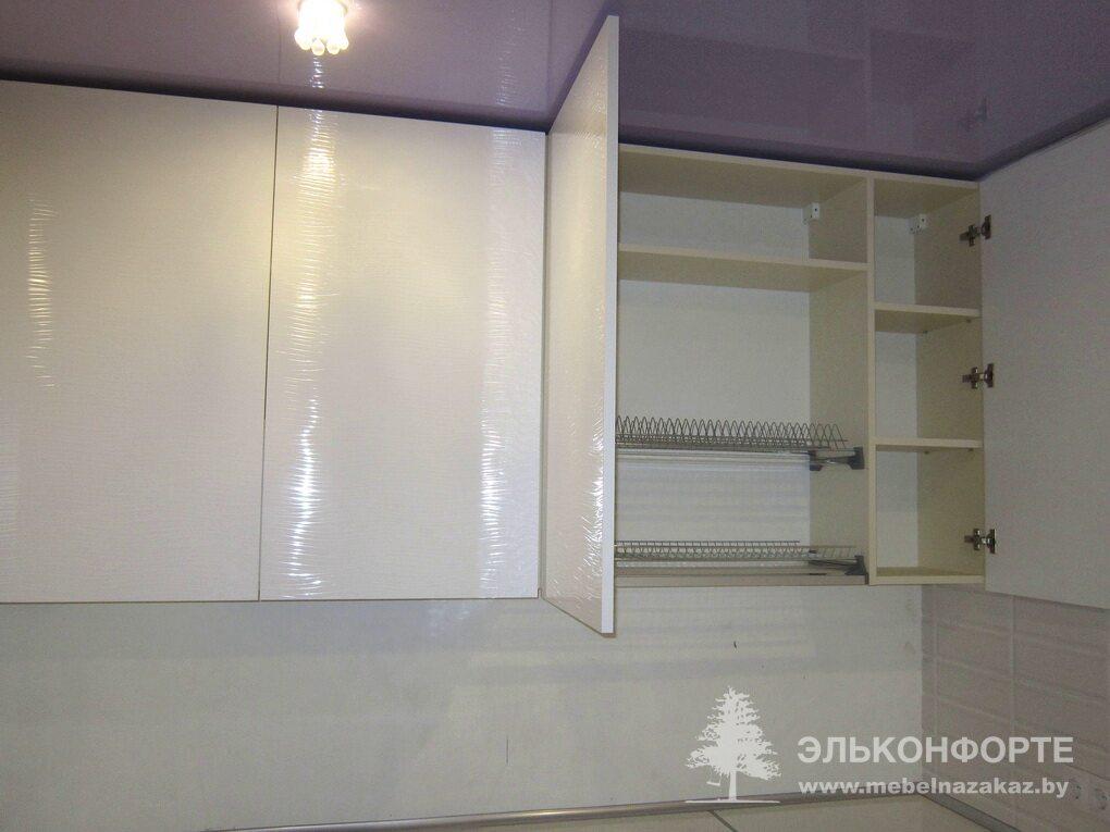 Угловая кухня из пластика Айва
