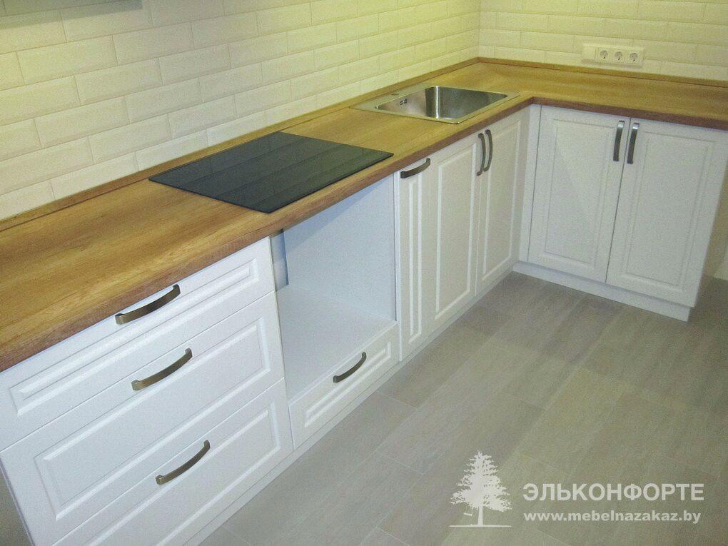 Современная угловая кухня Амелия