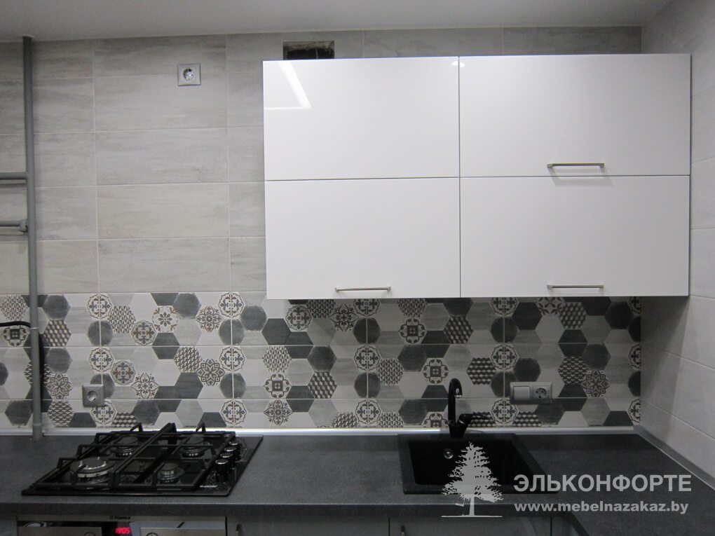 Кухня из крашенного МДФ Регина