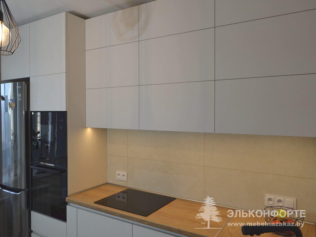 Современная угловая кухня Минима