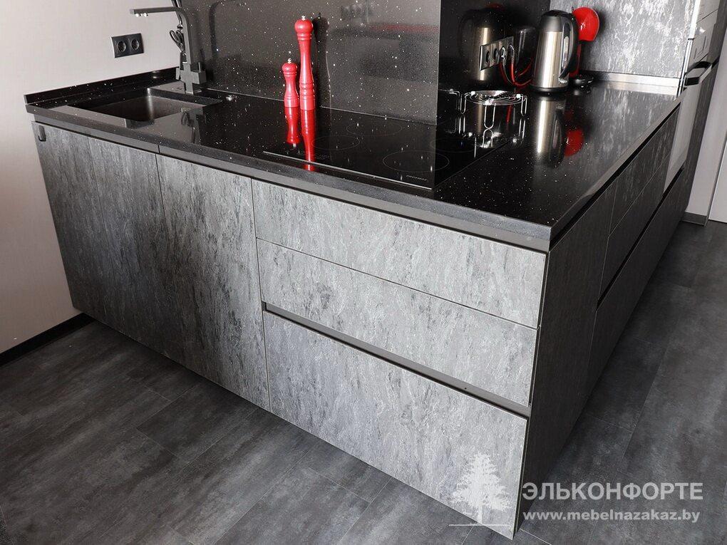 Современная угловая кухня Вайн