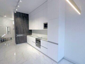 Стильная угловая кухня Бронкс