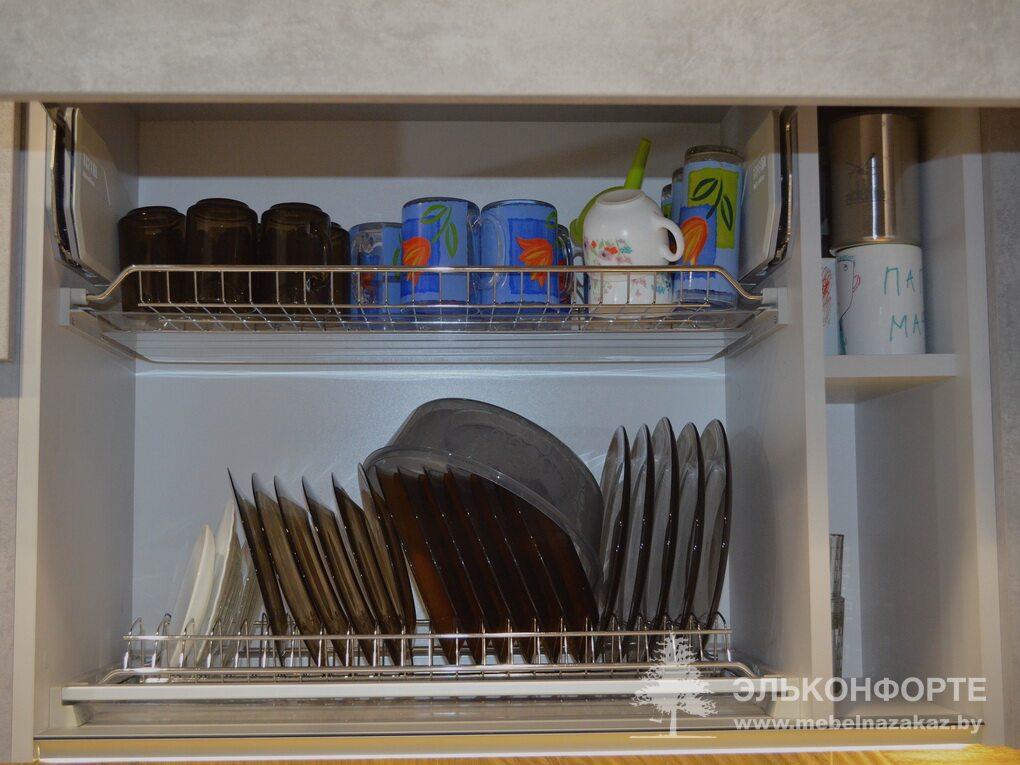 Стильная угловая кухня Стоун